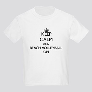 Keep calm and Beach Volleyball ON T-Shirt
