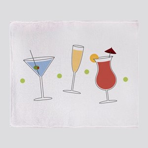 Cocktail Party Throw Blanket
