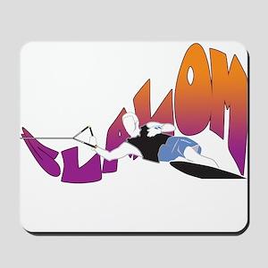 Eat Sleep Slalom Waterski Mousepad