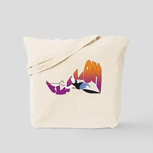 Eat Sleep Slalom Waterski Tote Bag