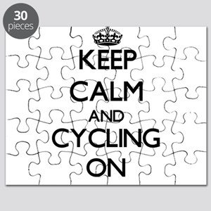 Keep calm and Cycling ON Puzzle