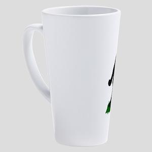 Christmas Squatchin 17 oz Latte Mug