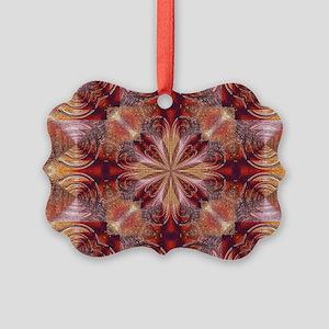 Circles & Squares Picture Ornament