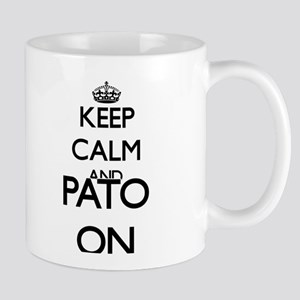 Keep calm and Pato ON Mugs