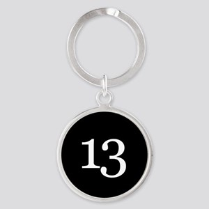 Number 13 Keychains