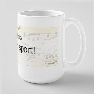 Orchestra Team Sport Large Mug