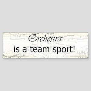 Orchestra Team Sport Bumper Sticker
