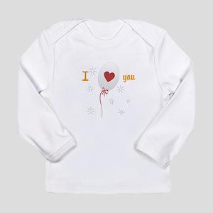 Love I Heart You Long Sleeve Infant T-Shirt