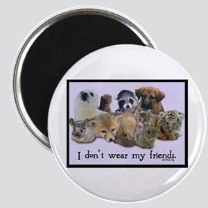 I Don't Wear My Friends Magnet