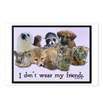 I Don't Wear My Friends Postcards (Package of 8)