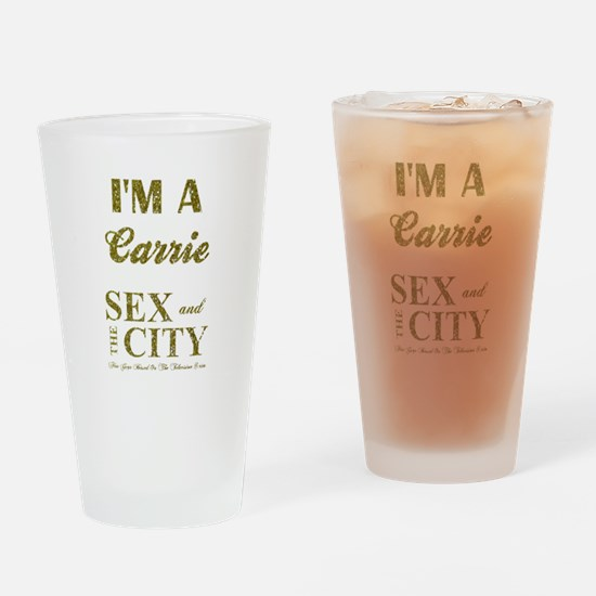 I'M A CARRIE Drinking Glass