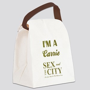 I'M A CARRIE Canvas Lunch Bag