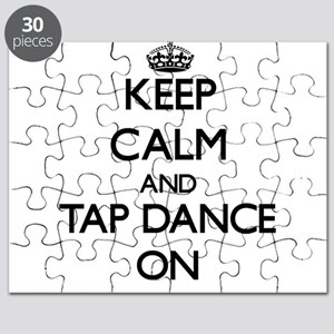 Keep calm and Tap Dance ON Puzzle