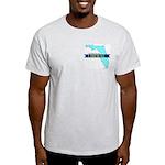 True Blue Florida LIBERAL Ash Grey T-Shirt