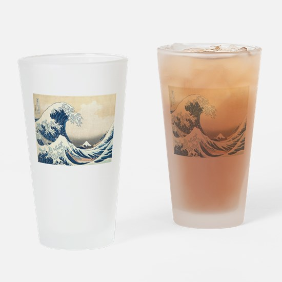 wave Drinking Glass