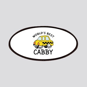 WORLDS BEST CABBY Patches