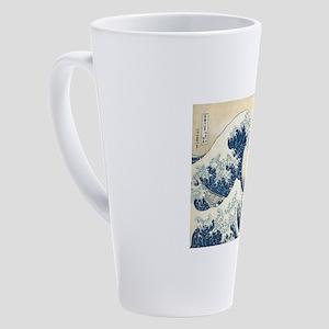 wave 17 oz Latte Mug