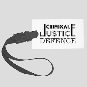Defence Luggage Tag