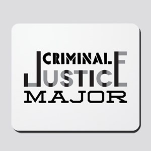 Criminal Justice Major Mousepad