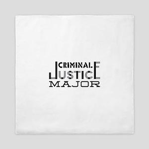 Criminal Justice Major Queen Duvet