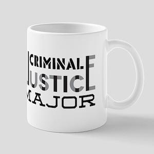 Criminal Justice Major Mugs