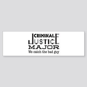 Bad Guy Bumper Sticker