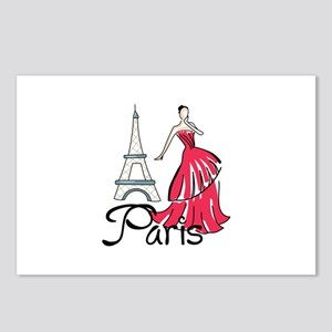 PARIS MODEL Postcards (Package of 8)