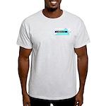 Ash Grey T-Shirt for a True Blue Virginia LIBERAL