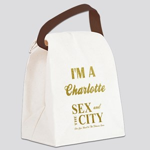 I'M A CHARLOTTE Canvas Lunch Bag