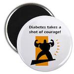 Diabetes Courage Magnet
