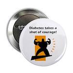 Diabetes Courage Button