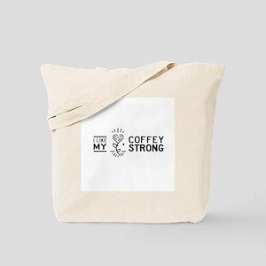 Coffey Strong Logo Tote Bag