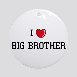 I Love BB Ornament (Round)