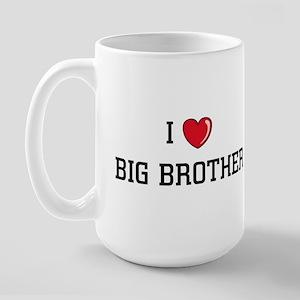 I Love BB Large Mug