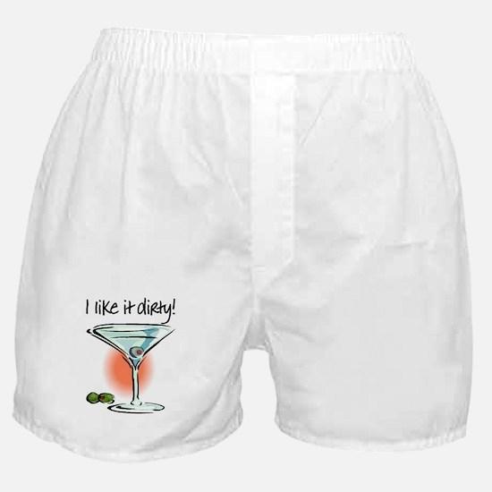 I LIKE IT DIRTY Boxer Shorts