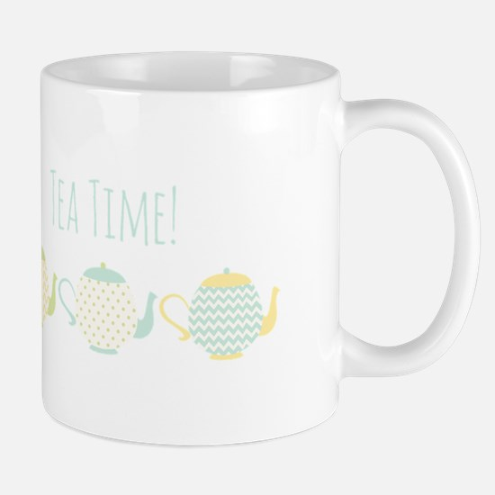 Teapots Tea Time Mugs