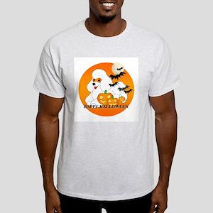 White Poodle Light T-Shirt