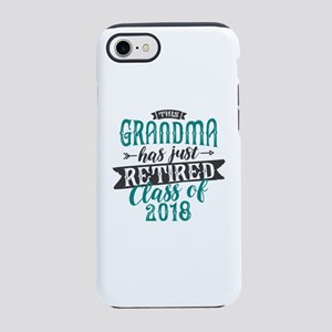 Retired Grandma iPhone 7 Tough Case