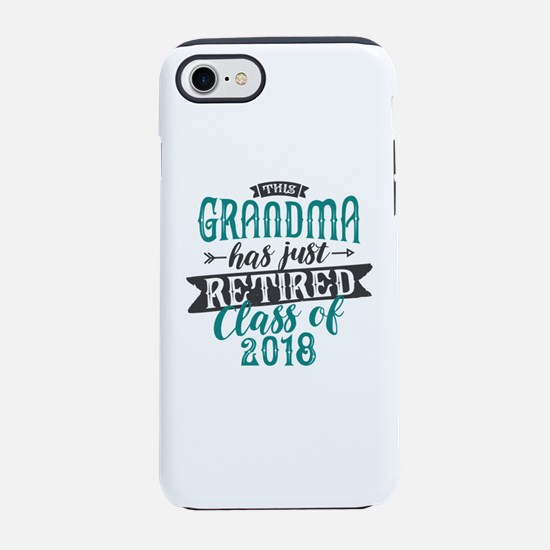 Retired Grandma iPhone 7 Tough Case