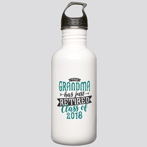 Retired Grandma Stainless Water Bottle 1.0L