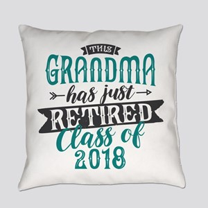 Retired Grandma Everyday Pillow