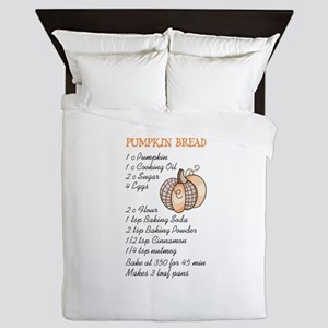PUMPKIN BREAD RECIPE Queen Duvet