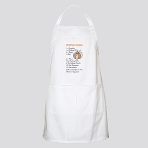 PUMPKIN BREAD RECIPE Apron