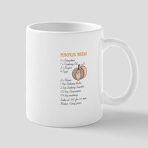PUMPKIN BREAD RECIPE Mugs