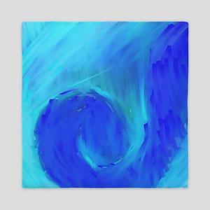 Blue Wave Queen Duvet