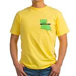Yellow T-Shirt for a True Blue Louisiana LIBERAL