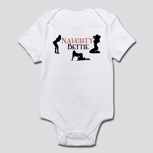 3 Naughty Betties Infant Bodysuit