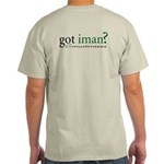 Got Iman? Muslim Islamic Grey T-Shirt