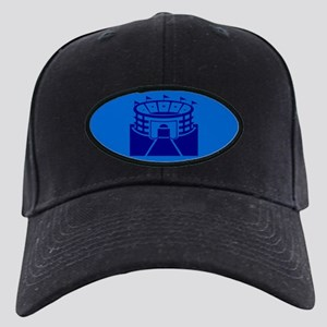 Blue Stadium Black Cap
