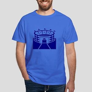 Blue Stadium Dark T-Shirt